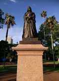 Queen Victoria statue in Albert park Auckland, New Zealand Stock Photos