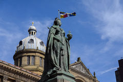 Queen Victoria Statue, Birmingham Royalty Free Stock Photography