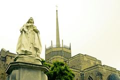 Queen Victoria Statue. Royalty Free Stock Image