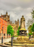 Queen Victoria Statue on College Green, Bristol Royalty Free Stock Images