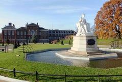 Queen Victoria Statue in Kensington Gardens. Statue of Queen Victoria in Kensington Gardens, London Stock Images