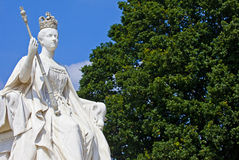 Queen Victoria Statue at Kensington Palace in London Royalty Free Stock Photography
