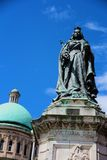 Queen Victoria statue. In Kingston-Upon-Hull outside City Hall Stock Photo