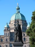 Queen Victoria Statue Legislative Assembly Royalty Free Stock Image
