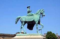 Queen Victoria Statue, Liverpool. Stock Images