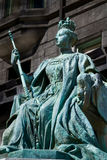 Queen Victoria statue in Montreal Royalty Free Stock Photos