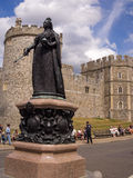 Queen Victoria Statue Windsor Castle England Stock Image
