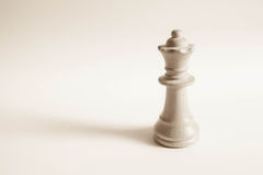 Queen from white set (chess) Royalty Free Stock Photos