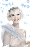 Queen of winter Stock Image