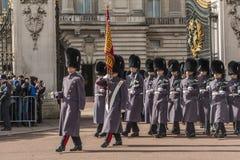 Queen&#x27 φρουρά του s - Buckingham Palace - Λονδίνο - UK Στοκ Εικόνα