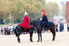 Queen's Cavalry Royalty Free Stock Images
