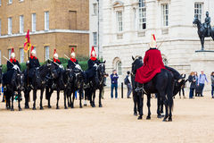 Queen's Cavalry Royalty Free Stock Image