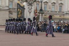 Queen's Guard - Buckingham Palace - London - UK Stock Photography