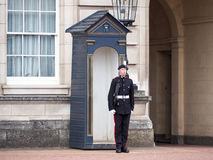 Queen's Guard at the Buckingham Palace Stock Photo