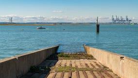 Queenborough, ilha de Sheppey, Kent, Inglaterra, Reino Unido fotos de stock royalty free