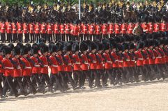 The Queen�s Birthday Parade�. Stock Photo
