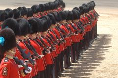 The Queens Birthday Parade. Stock Image