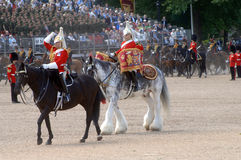 The Queens Birthday Parade. Royalty Free Stock Photo