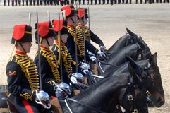 The Queens Birthday Parade. Royalty Free Stock Photography