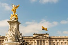 The Queens birthday Trooping the Colour royalty free stock photography