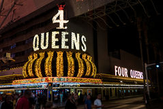 4 Queens Casino Las Vegas Stock Image