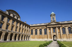 The Queens College Oxford Stock Image