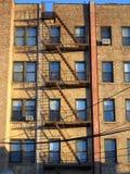 Queens, costruzione di appartamento di New York Fotografia Stock