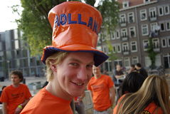 Queens day Amsterdam Stock Images