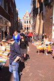 Queens day free market deventer Royalty Free Stock Photography