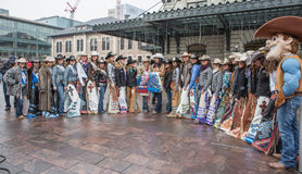 Queens del rodeo Immagine Stock