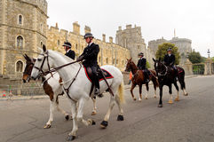 Queens Diamond Jubilee Great Parade Royalty Free Stock Image