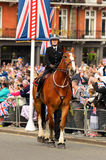 Queens Diamond Jubilee Great Parade Royalty Free Stock Photos
