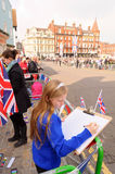 Queens Diamond Jubilee Great Parade Stock Photography