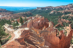 Queens Garden Trail in Bryce Canyon, Utah Royalty Free Stock Images