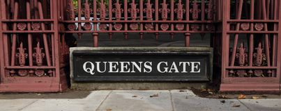 Queens gate Royalty Free Stock Image
