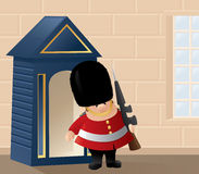 Queens Guard in Action Royalty Free Stock Photos