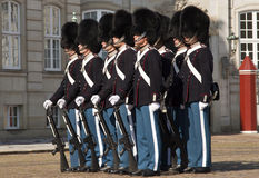 Queens Guard Stock Photo