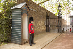 Queens Guard Clarence House Royalty Free Stock Image