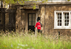 Queens Guard Clarence House Stock Image