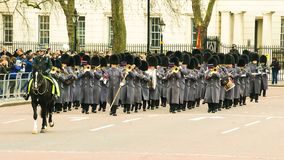 Queens Guards Musicians royalty free stock image