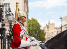 Queens Guardsman Royalty Free Stock Photography