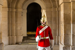 Queens Guardsman Stock Photo