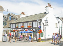 Queens Head: Hawkshead. Stock Photography