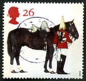 Queens Horse UK Postage Stamp Royalty Free Stock Photo