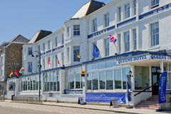 The Queens Hotel St Ives, Cornwall Stock Photography