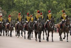 Queen's Life Guards, London,England Stock Photos