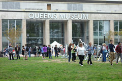 Queens Museum. The Queens Museum, in Flushing Meadows-Corona Park, New York royalty free stock photos