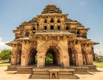 Queens Palace. Lotus Mahal or Queens palace in Hampi royalty free stock photos
