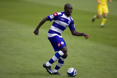 Queens Park Rangers v Chievo Verona 2nd August 200. LONDON, UK AUGUST 2, Patrick Agyemang at the pre-season friendly football match between QPR and Chievo Royalty Free Stock Photography