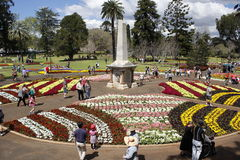 Queens Park Toowoomba stock images